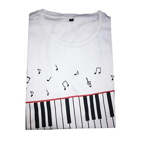 CIGUO Graphic Tshirt 4 Mens Boys Perfect Cosplay OLODUM Beat It Piano Peace Anti War T- Shirts