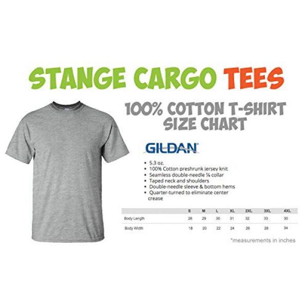 Strange Cargo Graphic Tshirt 2 Men's Ditka Glasses and Stache Tshirt