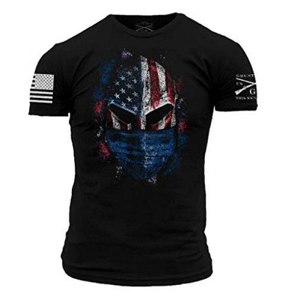 Grunt Style Graphic Tshirt 1 American Spartan Prepared - Men's T-Shirt