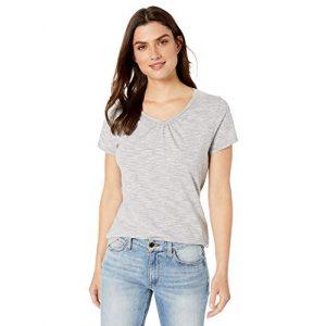 Hanes Graphic Tshirt 1 Women's Shirred V-Neck T-Shirt