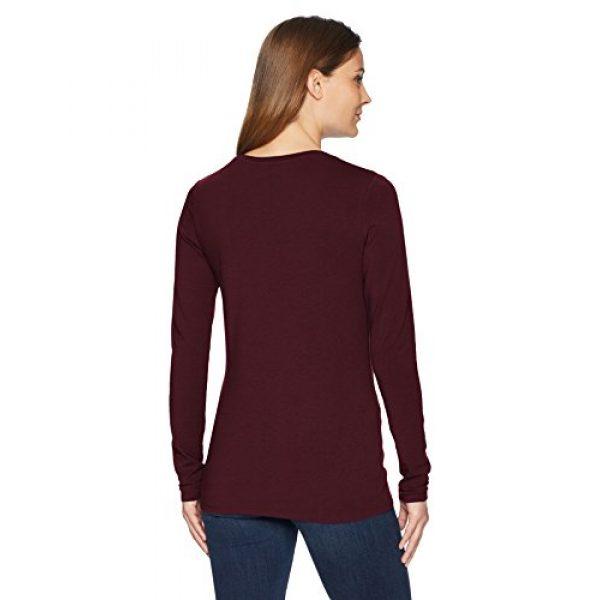 Amazon Essentials Graphic Tshirt 2 Women's Classic-Fit Long-Sleeve Crewneck T-Shirt