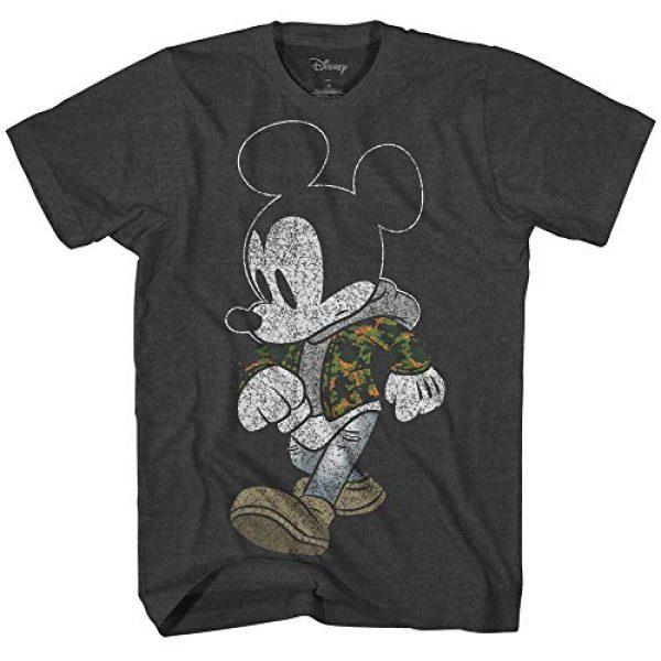 Disney Graphic Tshirt 1 Mickey Mouse Camo Camouflage Disneyland World Retro Classic Vintage Tee Funny Humor Adult Mens Graphic T-Shirt Apparel