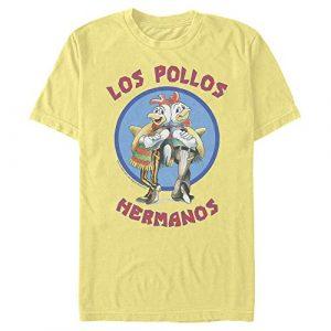 Fifth Sun Graphic Tshirt 1 Men's Breaking Bad Los Pollos Hermanos Chicken Logo T-Shirt