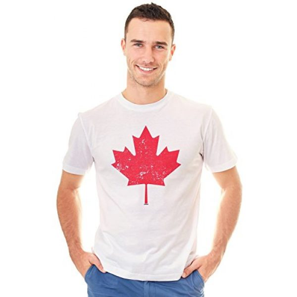 Retreez Graphic Tshirt 1 Vintage Canada Canadian The Maple Leaf Flag Graphic Printed T-Shirt Tee