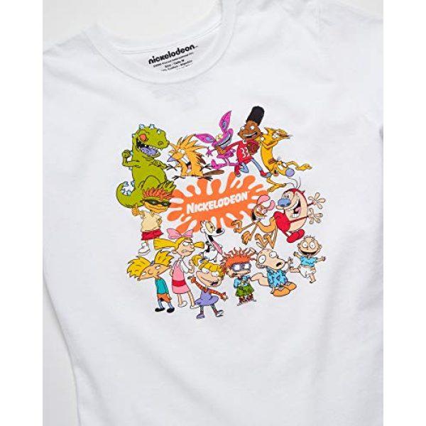 "Nickelodeon Graphic Tshirt 2 Womens Retro Cartoon T-Shirt - Vintage ""90s Vaporwave Rocket Power, Rugrats Short Sleeve Graphic Tee"
