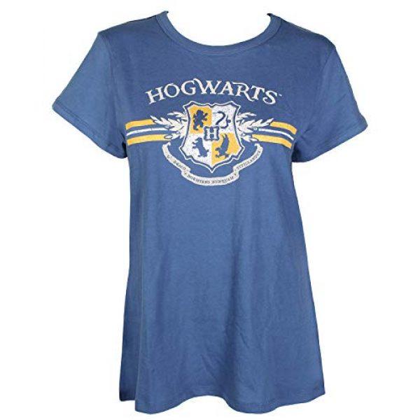 Bioworld Graphic Tshirt 1 Juniors' Harry Potter Hogwarts Crest Short-Sleeve T-Shirt