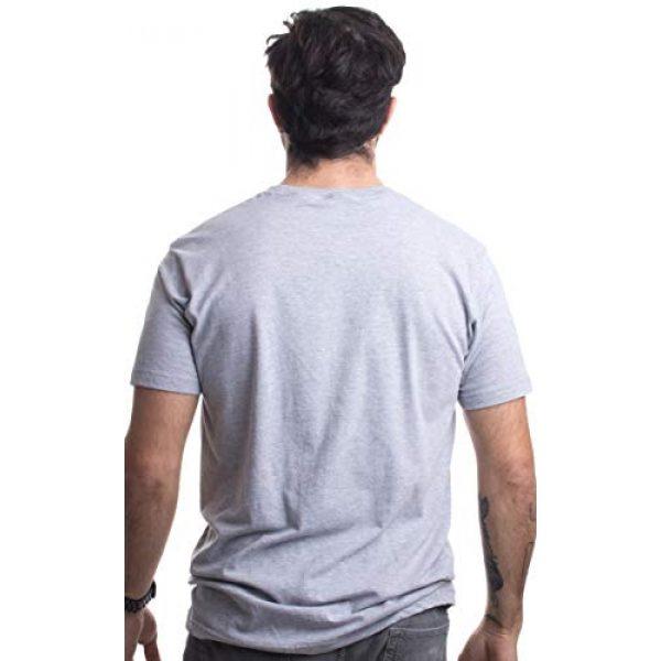 Ann Arbor T-shirt Co. Graphic Tshirt 4 Top Grandpa | Funny 80s Dad Humor Movie Gun 1980s Military Air Force Men T-Shirt