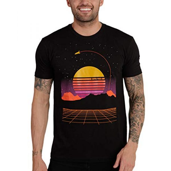 INTO THE AM Graphic Tshirt 1 Men's Graphic T-Shirts - Novelty Graphic Tees with Cool Designs