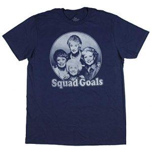 Bioworld Graphic Tshirt 1 Golden Girls Shirt Adult Squad Goals Photo T-Shirt