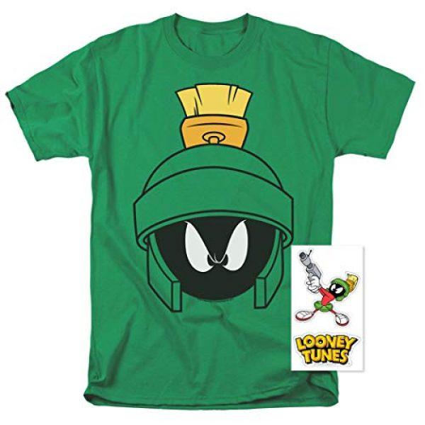 Popfunk Graphic Tshirt 2 Looney Tunes Marvin Helmet T Shirt & Stickers