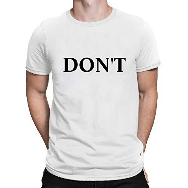 VoPee Graphic Tshirt 1 Mens Tee Dont Funny Letters Levy Graphic T-Shirt