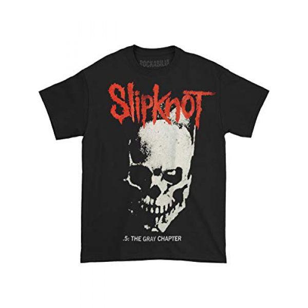 Bravado Graphic Tshirt 3 Slipknot Skull & Tribal Black T-Shirt