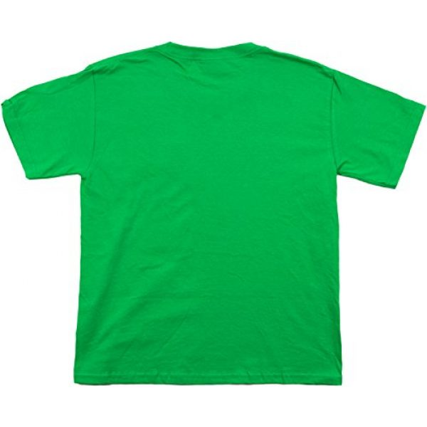 Ann Arbor T-shirt Co. Graphic Tshirt 3 Santa's Elf Costume | Jumbo Print Novelty Christmas Holiday Humor Youth T-Shirt