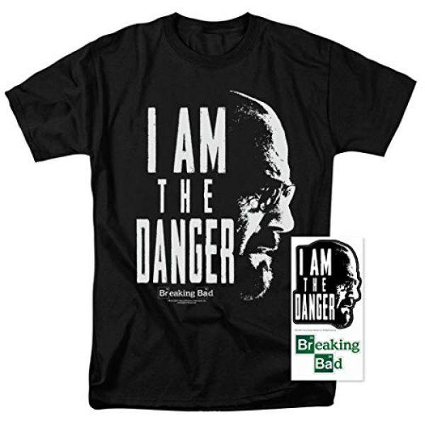 Popfunk Graphic Tshirt 2 Breaking Bad The Danger T Shirt & Stickers (Medium)