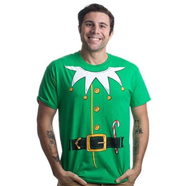 Ann Arbor T-shirt Co. Graphic Tshirt 1 Santa's Elf Costume   Jumbo Print Novelty Christmas Holiday Humor Unisex T-Shirt