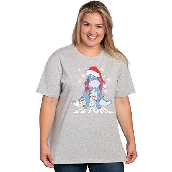 Disney Graphic Tshirt 1 Womens Plus Size T-Shirt Christmas Eeyore Winnie The Pooh