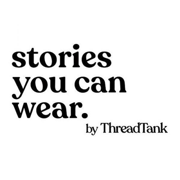 Thread Tank Graphic Tshirt 6 Grateful Women's Fashion Relaxed V-Neck T-Shirt Tee