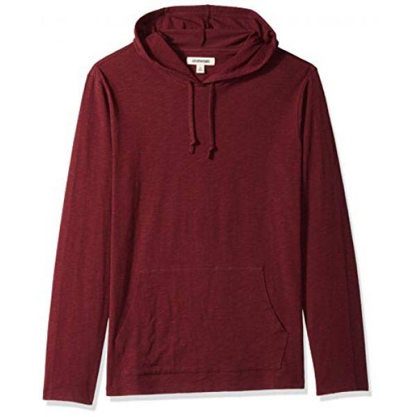 Goodthreads Hoodie 1 Amazon Brand - Goodthreads Men's Lightweight Slub T-Shirt Hoodie
