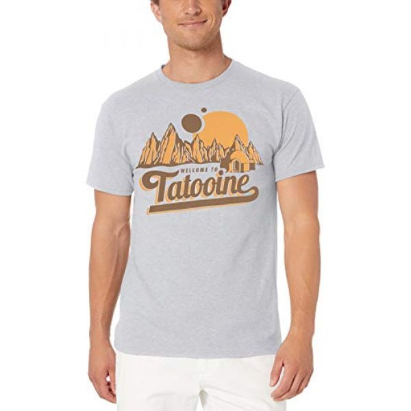 Star Wars Graphic Tshirt 1 Men's Classic Welcome to Tatooine Skywalker Mos Eisley T-Shirt