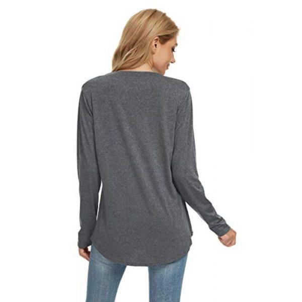 Akyzic Graphic Tshirt 5 Women's Merry Christmas Believe Shirt Buffalo Plaid Casual Graphic T Shirt Tee
