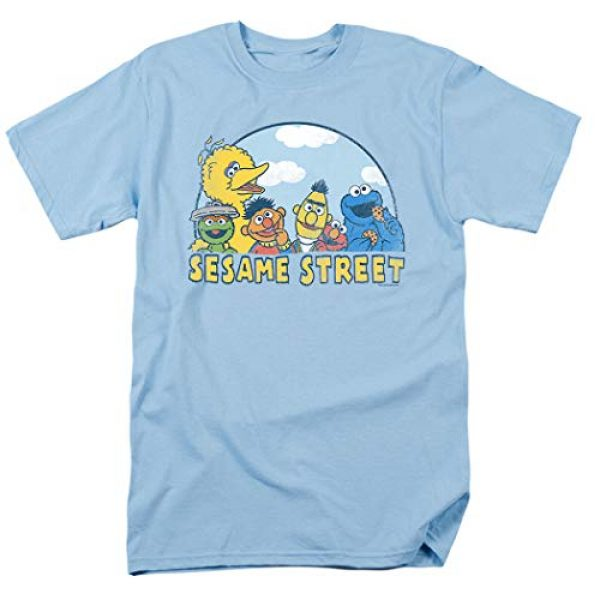 Popfunk Graphic Tshirt 1 Sesame Street Group T Shirt & Stickers