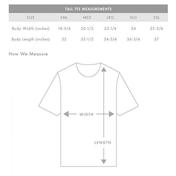 Have It Tall Graphic Tshirt 6 Men's Extra Long T Shirt
