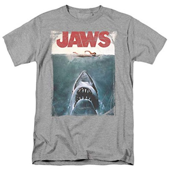 Popfunk Graphic Tshirt 1 Jaws Shark Original Movie Poster T Shirt & Stickers