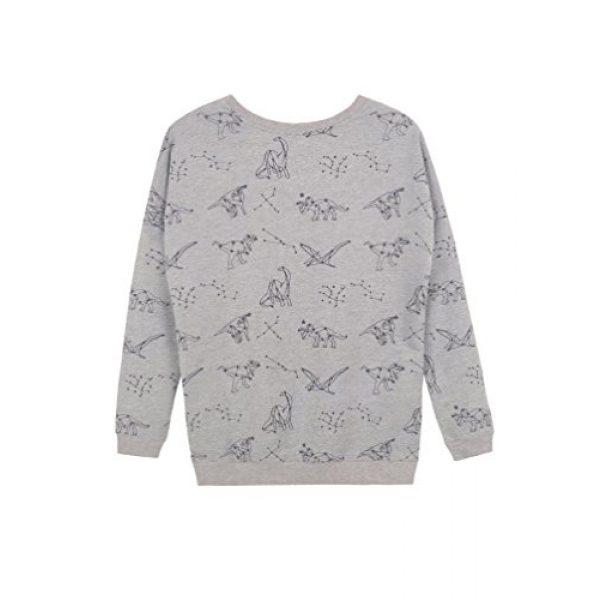 LAVIELENTE FASHION Graphic Tshirt 2 LaVieLente Women's Cotton Long Sleeve Graphic Sweatshirt Crewneck Pullover