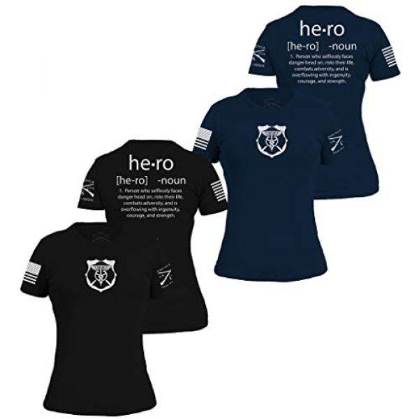 Grunt Style Graphic Tshirt 1 Hero Defined - Women's T-Shirt