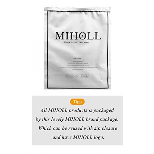 MIHOLL Graphic Tshirt 4 Women's Short Sleeve V-Neck Shirts Loose Casual Tee T-Shirt