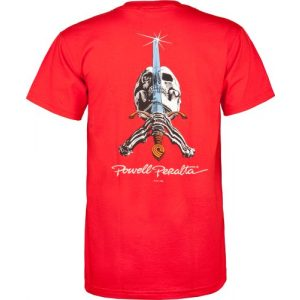 Powell Peralta Graphic Tshirt 1 Powell-Peralta Skull and Sword T-Shirt