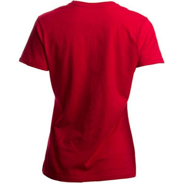 Ann Arbor T-shirt Co. Graphic Tshirt 4 Santa Claus Costume | Jumbo Print Novelty Christmas Holiday Humor Ladies T-Shirt