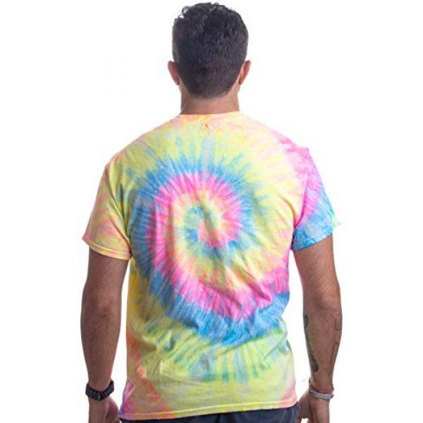 Ann Arbor T-shirt Co. Graphic Tshirt 5 Humans aren't Real | Funny Festival Hippy Rave Drug Tie Dye for Men or Women T-Shirt