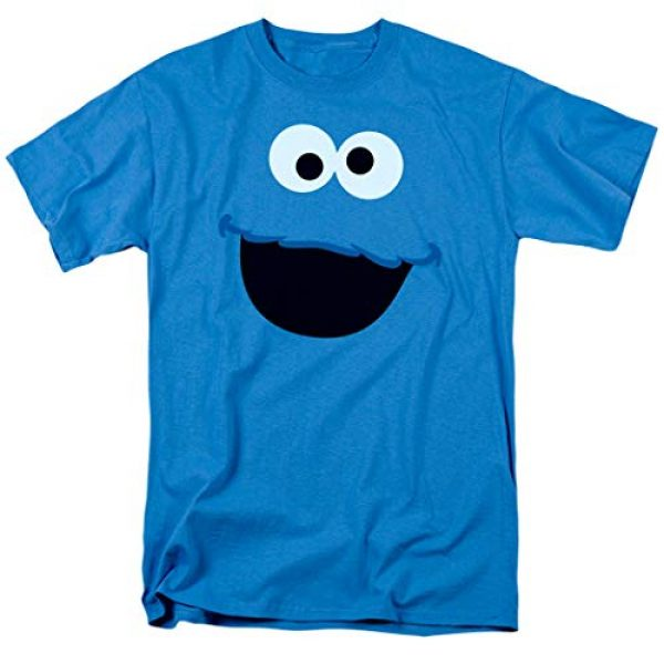 Popfunk Graphic Tshirt 1 Sesame Street Cookie Monster T Shirt & Stickers