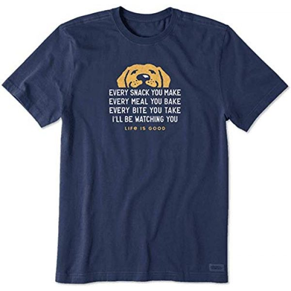 Life is Good Graphic Tshirt 1 Mens Crusher Pet Graphic T-Shirt