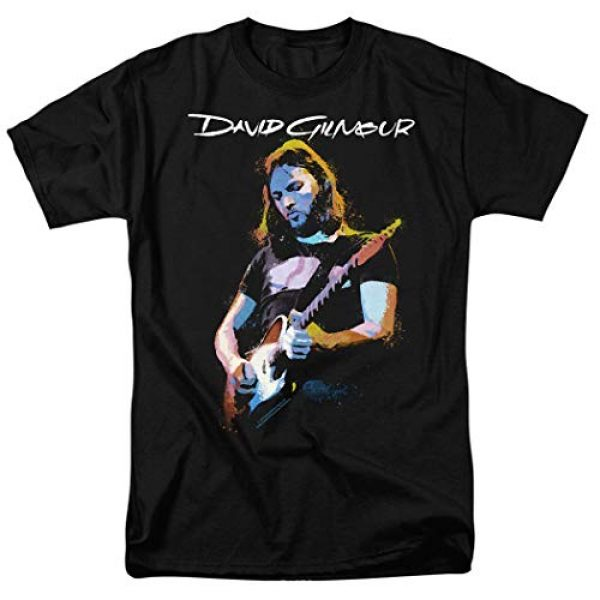 Popfunk Graphic Tshirt 1 David Gilmour Pink Floyd Guitar T Shirt & Stickers