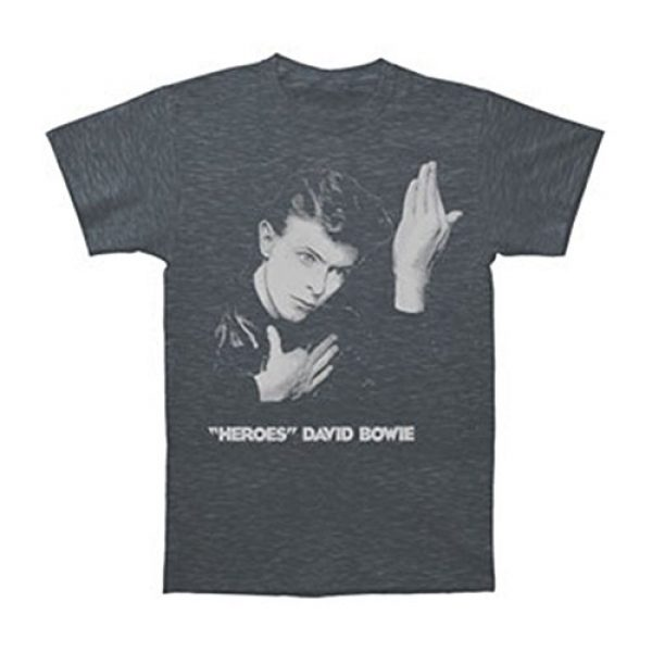 David Bowie Graphic Tshirt 1 Heroes Soft T-Shirt