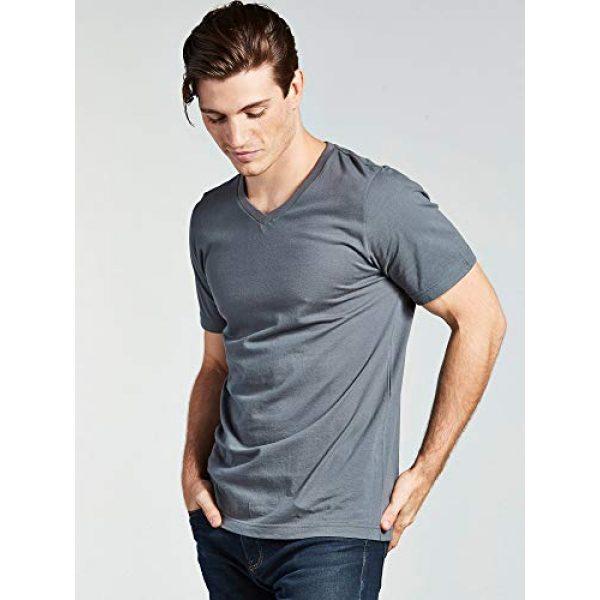 Bolter Graphic Tshirt 3 4 Pack Men's Everyday Cotton Blend V Neck Short Sleeve T Shirt