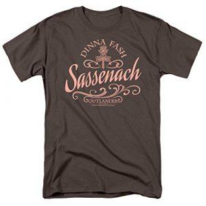 Popfunk Graphic Tshirt 1 Outlander Dinna Fash Sassenach T Shirt & Stickers