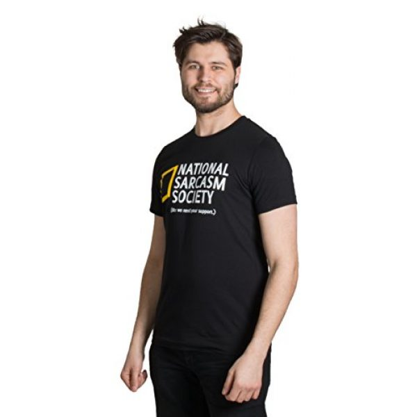 Ann Arbor T-shirt Co. Graphic Tshirt 2 National Sarcasm Society (Like we Need Your Support) | Funny Sarcastic T-Shirt