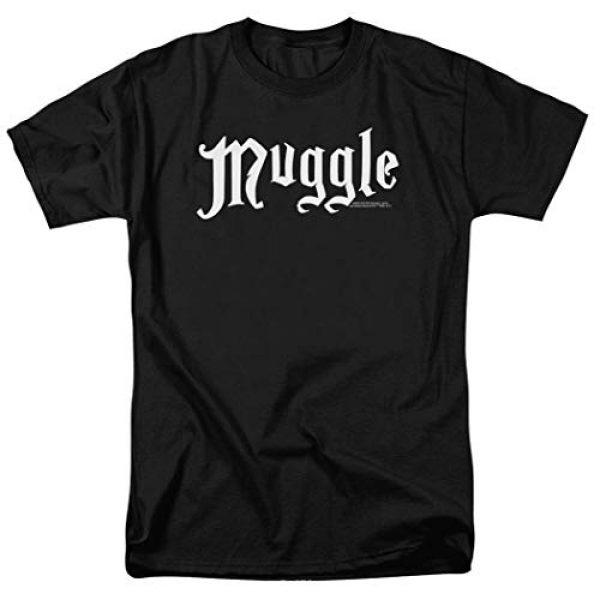 Popfunk Graphic Tshirt 1 Harry Potter Black Muggle T Shirt & Stickers