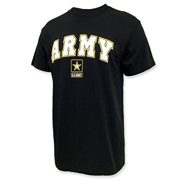 Armed Forces Gear Graphic Tshirt 1 Army Arch Star T-Shirt
