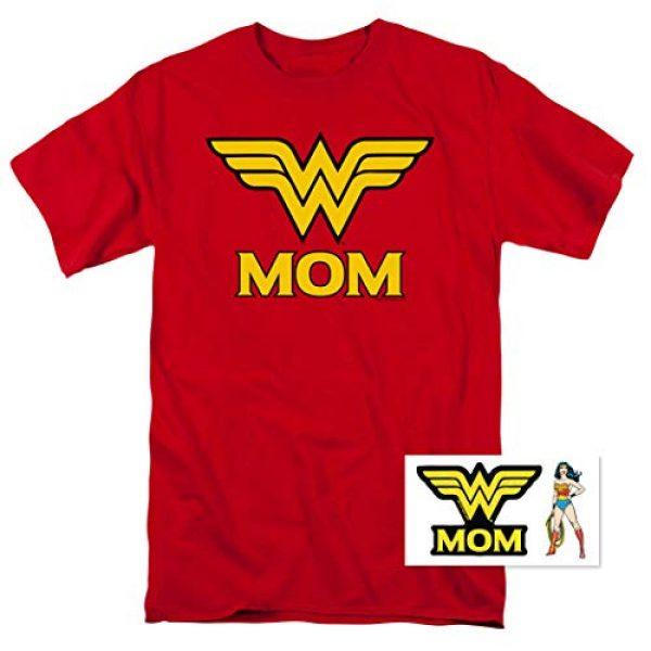 Popfunk Graphic Tshirt 2 Wonder Woman Wonder Mom DC Comics T Shirt & Stickers