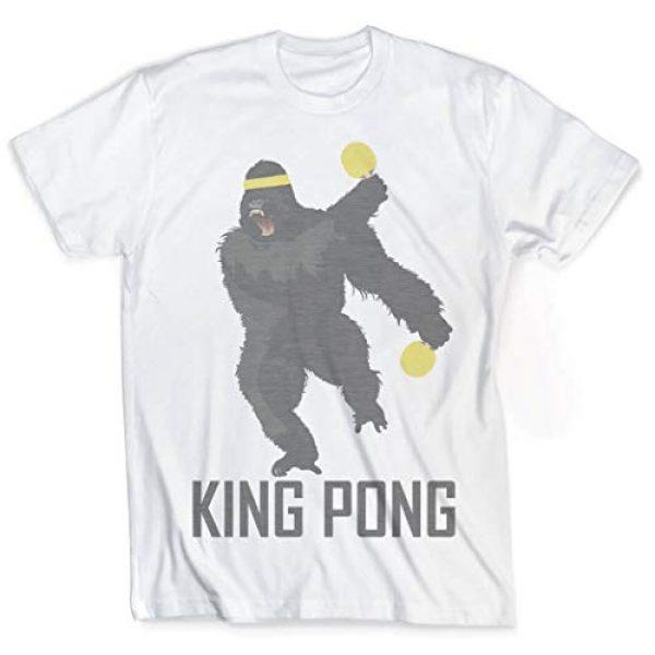 ChalkTalkSPORTS Graphic Tshirt 1 King Pong T-Shirt   Vintage Faded Ping Pong T-Shirt   Adult Sizes