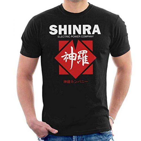 DCVZTEA Graphic Tshirt 1 Shinra Electric Power Company Final Fantasy VII Men's T-Shirt