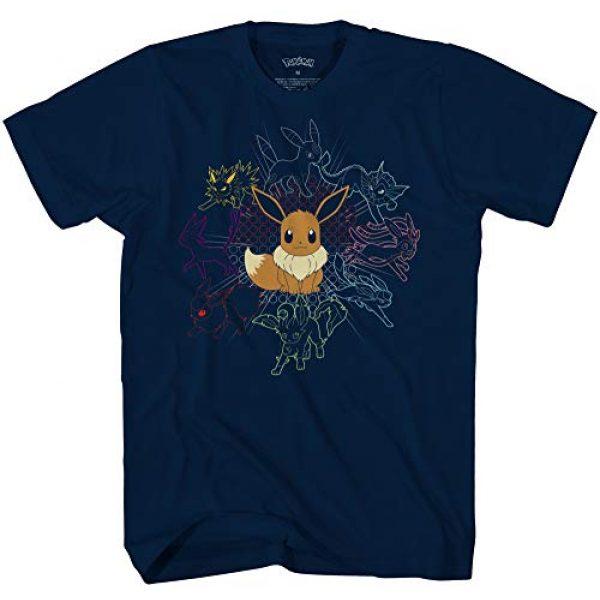 Pokemon Graphic Tshirt 1 Mono Eeveeloutions Eevee T-Shirt
