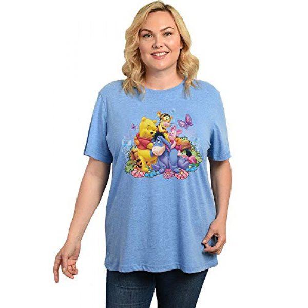 Disney Graphic Tshirt 1 Womens Plus Size T-Shirt Eeyore Winnie The Pooh - Choose Print