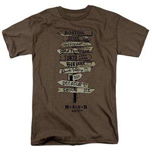 Popfunk Graphic Tshirt 1 MASH Fingerpost T Shirt & Stickers
