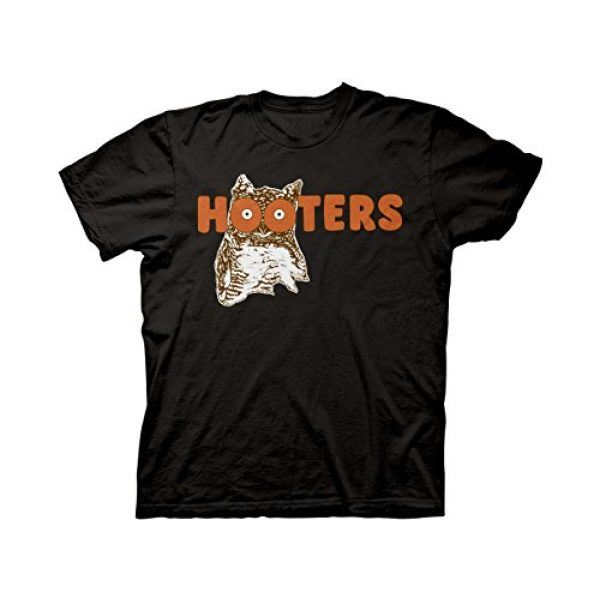 Ripple Junction Graphic Tshirt 1 Hooters Throwback Logo Adult T-Shirt