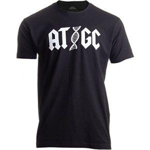 Ann Arbor T-shirt Co. Graphic Tshirt 1 ATGC | Funny Chemistry Chemist Biology Science Teacher for Men Women DNA T-Shirt